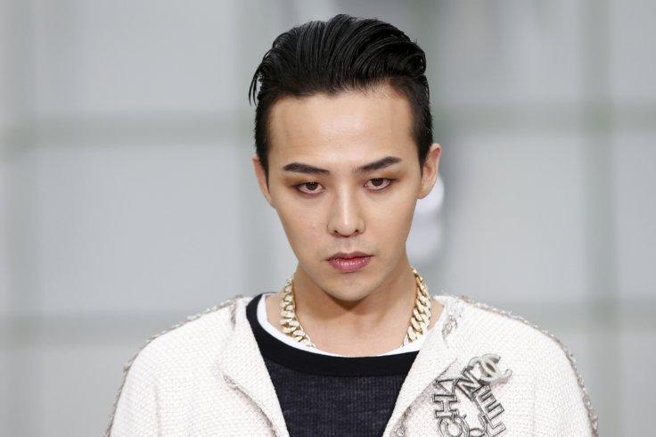 South Korean singer Kwon Ji Yong, known as G-Dragon, poses during a photocall before German designer Karl Lagerfeld Haute Couture Spring Summer 2015 fashion show