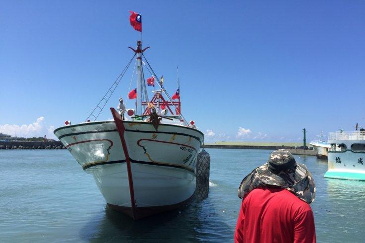 Taiwan fishermen arrive at Chinese-controlled Taiping Island seeking resupply