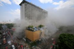 Philippines hotel fire