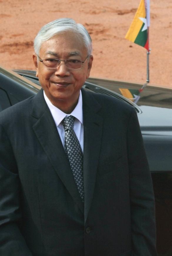 President of Myanmar Htin Kyaw