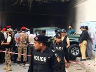 Gunmen kill two military officials in Pakistan's Karachi