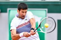 Serbian tennis player Novak Djokovic