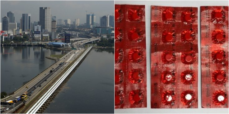 Erimin-5 tablets detected at the Woodlands checkpoint