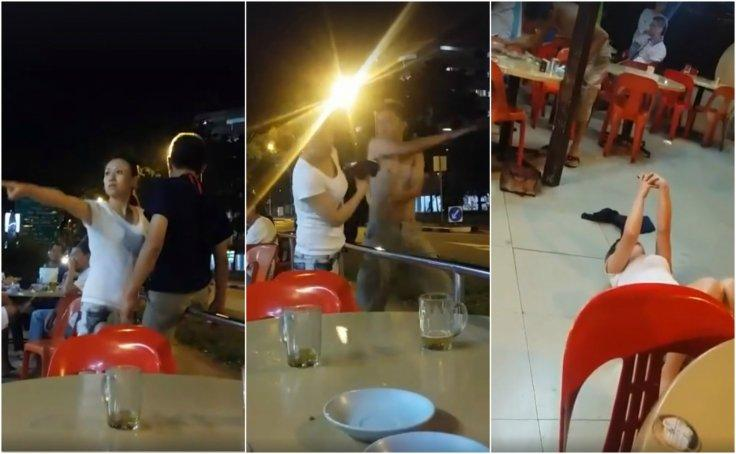 Hougang coffee shop fight