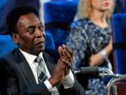 Brazil football legend Pele