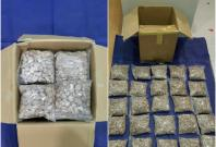 Heroin seized by NCID in Johor on 4 April 2018.