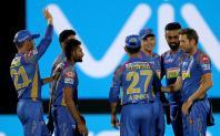 aipur: Rajasthan Royals celebrate after winning an IPL 2018 match against Delhi Daredevils at Sawai Mansingh Stadium in Jaipur on April 11, 2018.