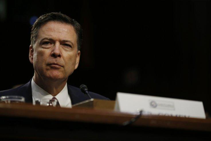 Former Federal Bureau of Investigation (FBI) Director James Comey