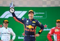 Chinese Grand Prix - Shanghai International Circuit, Shanghai, China - April 15, 2018 Red Bull's Daniel Ricciardo