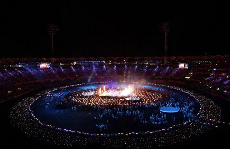 Gold Coast 2018 Commonwealth Games - Closing ceremony - Carrara Stadium - Gold Coast, Australia - April 15, 2018 - General view of the closing ceremony.