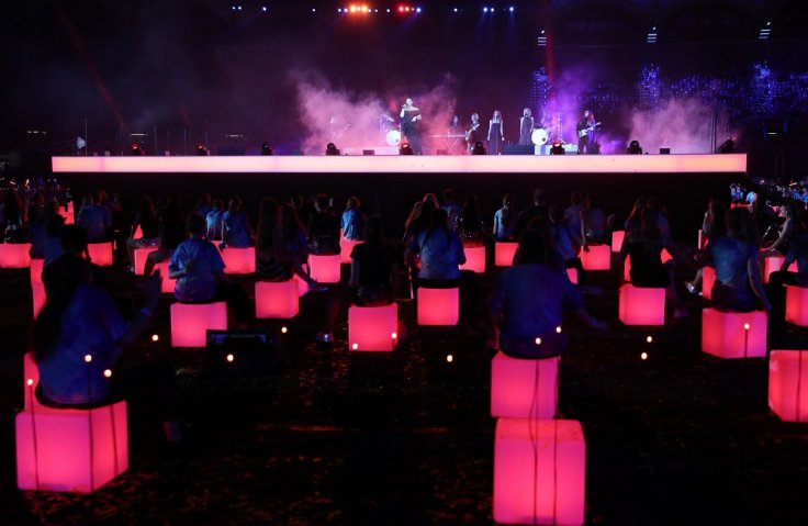 Gold Coast 2018 Commonwealth Games - Closing Ceremony - Carrara Stadium - Gold Coast, Australia - April 15, 2018. Artists perform.