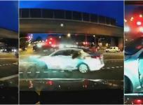 Singapore road accident