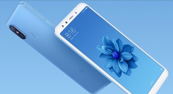 Xiaomi Mi 6X as seen on the company's website