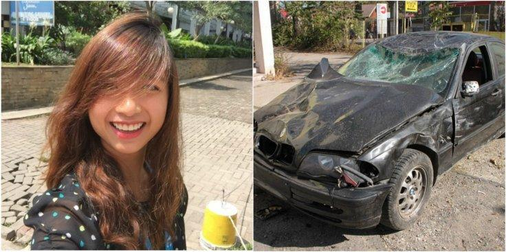 Bukit Timah accident.