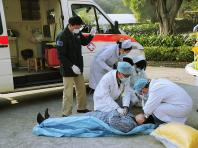 Worker injured at Marsiling Crescent