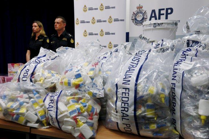 Australian police seize $700 mln worth of methylamphetamine in biggest drug bust