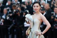 "71st Cannes Film Festival - Screening of the film ""Ash Is Purest White"" (Jiang hu er nv) in competition - Red Carpet Arrivals - Cannes, France, May 11, 2018. Fan Bingbing poses."
