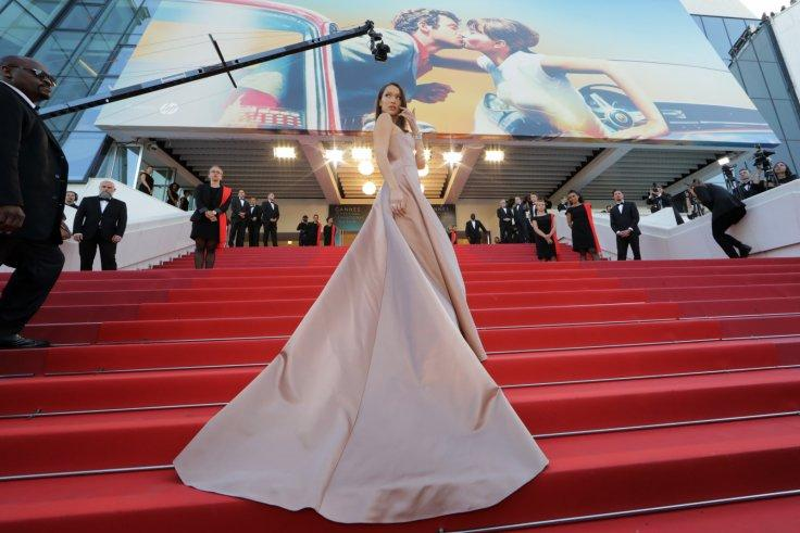 "71st Cannes Film Festival - Screening of the film ""Ash Is Purest White"" (Jiang hu er nv) in competition - Red Carpet Arrivals - Cannes, France, May 11, 2018 - Bella Hadid arrives"