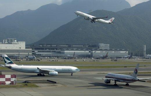 Typhoon Nida: More than 120 flights to and from Hong Kong cancelled