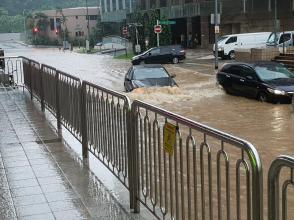 Singapore flash flood