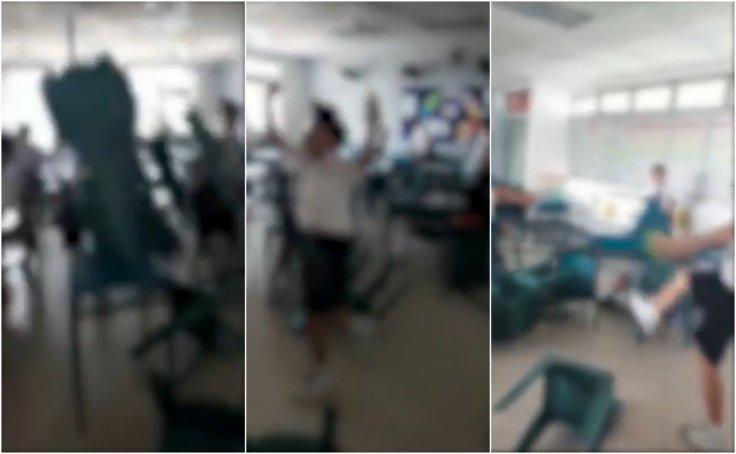 Singapore School Riot