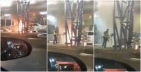 Fire accident at Woodland Checkpoint