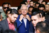 Former Malaysian Prime Minister Najib Razak