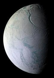 Saturn'a moon Enceladus