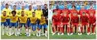 Brazil vs Belgium