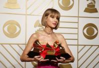 Grammy Awards 2016: Taylor Swift pips Kendrick Lamar to win album of the year