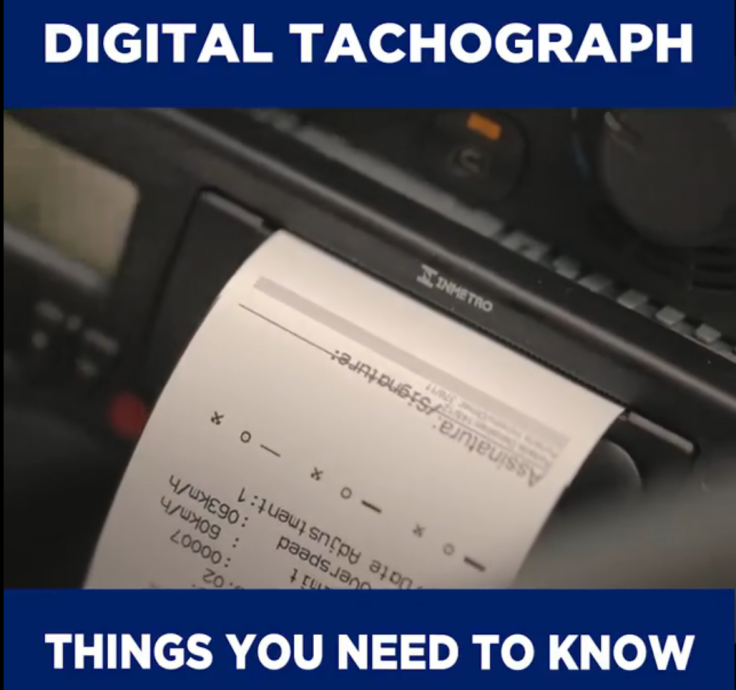 how to change the time on digital tachograph