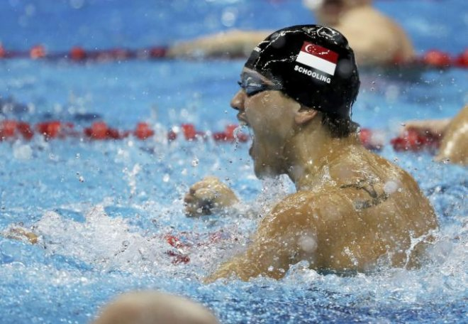Rio Olympics 2016: Schooling wins first gold for Singapore