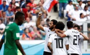 Saudi Arabia vs Egypt match