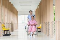 Paralyzed patient