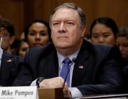 "U.S. Secretary of State Mike Pompeo testifies before a Senate Foreign Relations Committee hearing titled ""An Update on American Diplomacy to Advance Our National Security Strategy"" on Capitol Hill in Washington, DC, U.S., July 25, 2018."