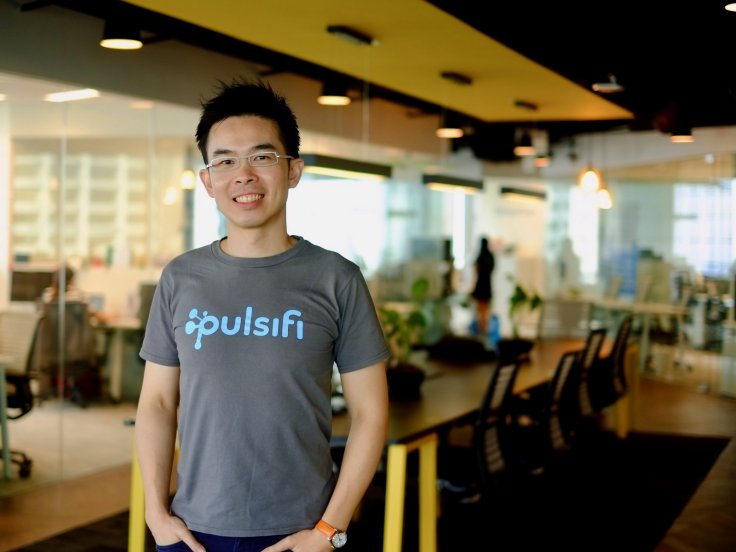 Jay Huang, Co-founder and CEO of Pulsifi