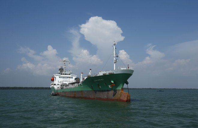 Malaysian oil tanker carrying arrying 900,000 litres of diesel 'hijacked off Malaysia'