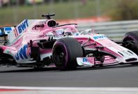 Formula One F1 - Hungarian Grand Prix - Hungaroring, Budapest, Hungary - July 27, 2018 Force India's Sergio Perez during practice