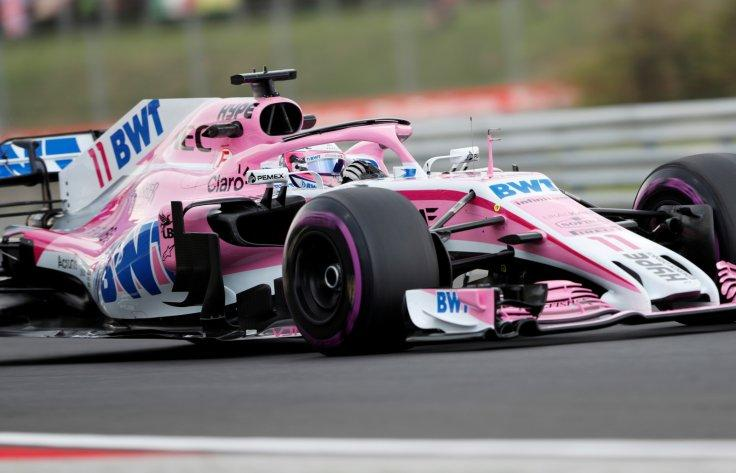 Formula One F1 - Hungarian Grand Prix - Hungaroring, Budapest, Hungary - July 27, 2018 Force India's Sergio Perez during practice