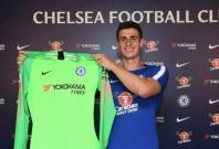 Kepa Arrizabalaga after signing for Chelsea