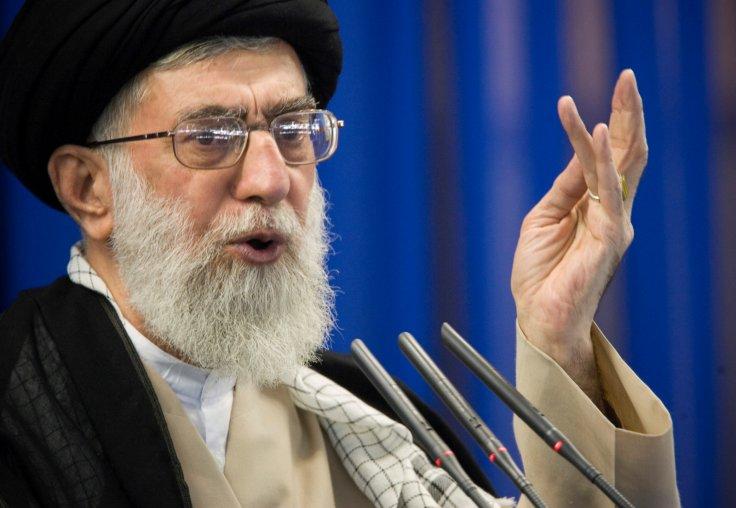 Iran's Supreme Leader Ayatollah Ali Khamenei speaks during Friday prayers in Tehran September 14, 2007.