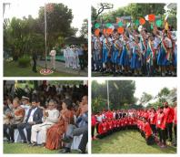 Indian independence day celebration in Indonesia