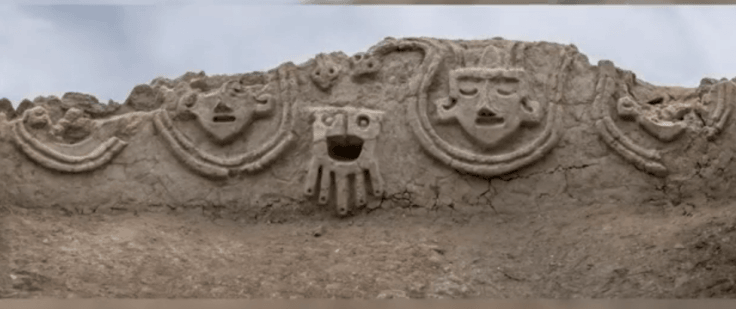 Archaeology: 3,800-year-old wall relief with mysterious structures discovered in Peru