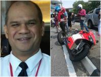 Singapore pilot died
