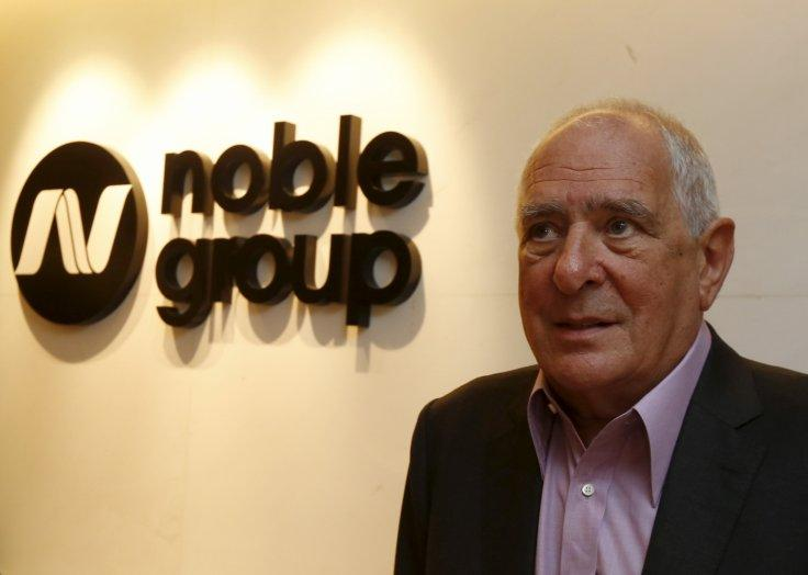 Noble Group founder and Chairman Richard Elman poses at his office in Hong Kong, China January 22, 2016.