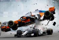 Belgian Grand Prix 2018 crash