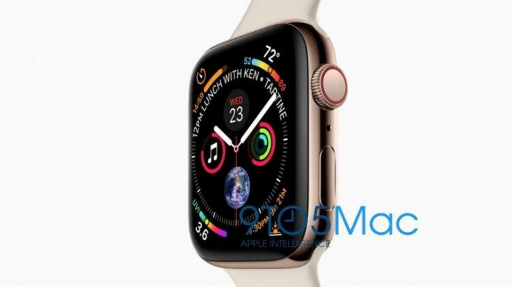 Apple Watch Series 4 is expected to come with edge-to-edge display.