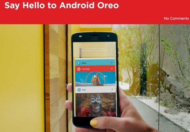 Motorola releases Android Oreo to Moto G5, G5 Plus