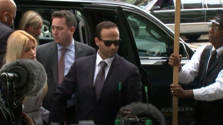 ex-trump-campaign-aide-george-papadopoulos-arrives-for-sentencing