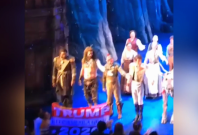 frozen-actor-snatches-pro-trump-banner-from-audience-member